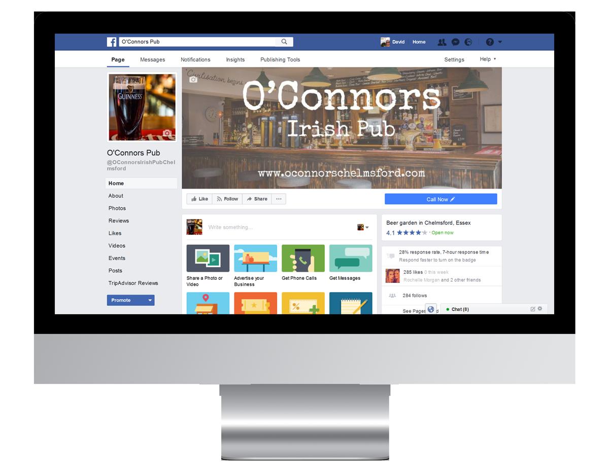 Social Media O'Connors