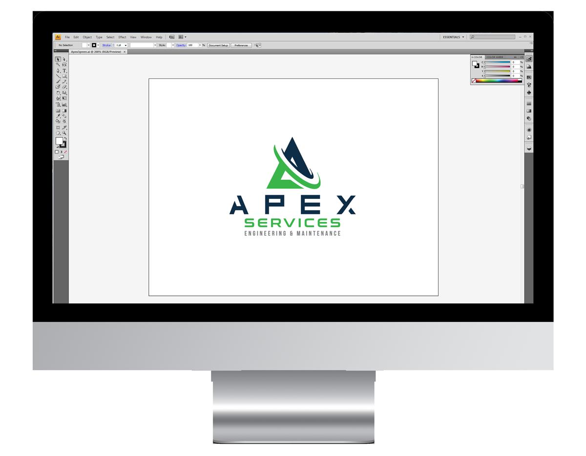 Apex Services Company Branding