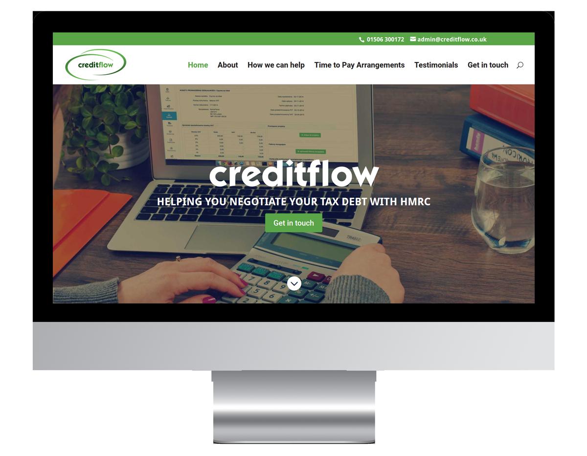 Creditflow Web Design