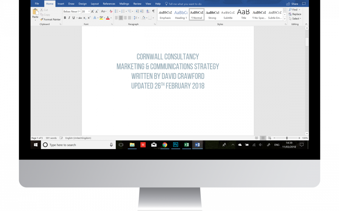 Cornwall Consultancy Strategy